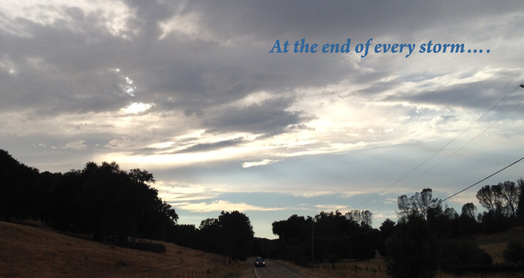 At the end of every storm….